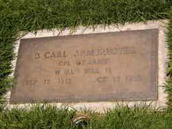 Berthold Carl Armbruster
