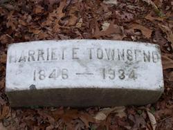 Harriet E. Townsend
