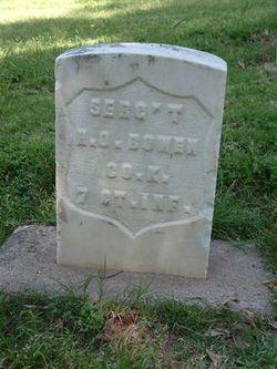 Sgt Henry O. Bowen