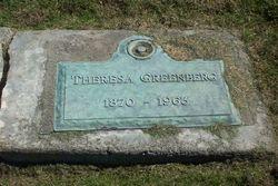 Theresa <i>Schwartz</i> Greenberg