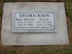 Mary Harriet Dedrickson