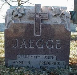 Annie <i>Barrett</i> Jaegge