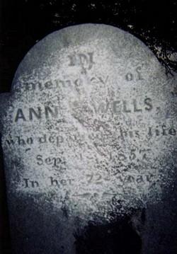 Ann <i>Gladden</i> Wells