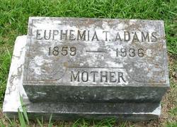 Euphemia T. Adams