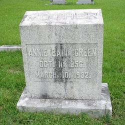 Annie <i>Ball</i> Green
