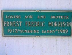 Ernest Sunshine Sammy Morrison