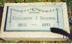 Elizabeth Jane <i>Hoover</i> Shaunce