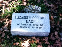 Elizabeth <i>Goodwin</i> Gage
