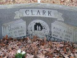 Rose Anna <i>Knight</i> Clark