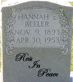 Hannah E. Beeler