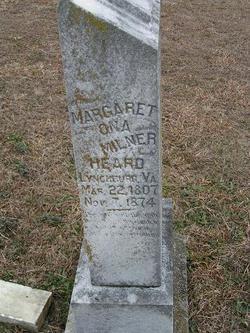 Margaret Ona <i>Milner</i> Heard
