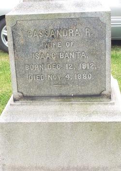 Cassandra R <i>Demaree</i> Banta