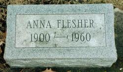 Anna <i>Scarberry</i> Flesher