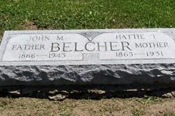 Harriet T Hattie <i>Allsworth</i> Belcher