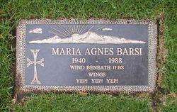Maria Agnes Benko Barsi