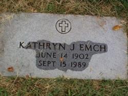 Kathryn J Emch