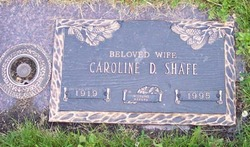 Caroline <i>Rodick</i> Shafe