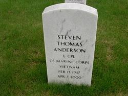 LCpl Steven Thomas Anderson