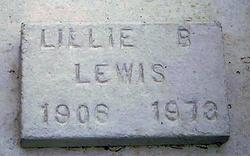 Lillie B Lewis