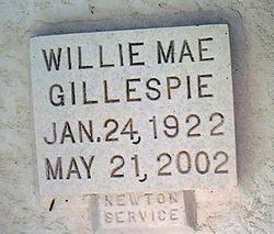 Willie Mae Gillespie