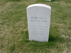 Walter James Wally Anderson