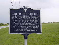 Fairforest Baptist Church Cemetery