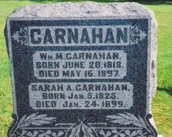 Sarah Ann <i>Nevius</i> Carnahan
