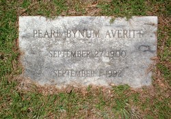 Pearl <i>Bynum</i> Averitt