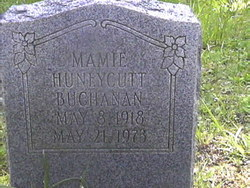 Mamie <i>Huneycutt</i> Buchanan