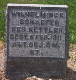 Wilhelmine <i>Kettler</i> Schaefer