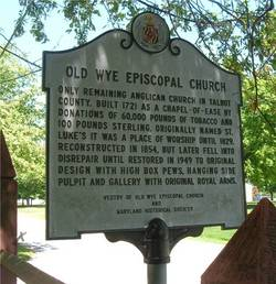 Old Wye Episcopal Church