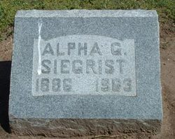 Alpha George Siegrist