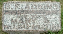 Mary A. <i>Thornell</i> Adkins