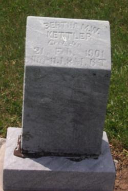 Bertha Marie Wilhelmine Kettler