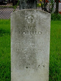 Nicholas <i>Nick</i> Borello, Jr