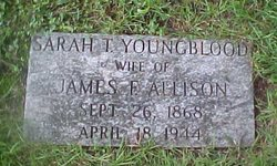 Sarah T <i>Youngblood</i> Allison