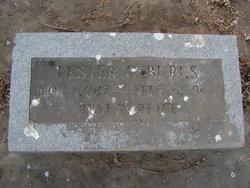 Lester C Burks