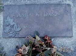 Anna Kathrine <i>Dehoff</i> Danz