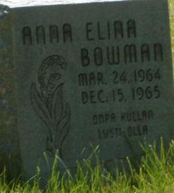 Anna Elina Bowman
