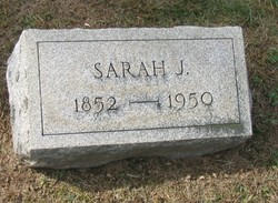 Sarah Jane <i>Van Fleet</i> Thatcher