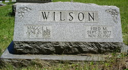 Margaret Lee <i>Toothman</i> Wilson