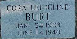 Cora Lee <i>Cline</i> Burt