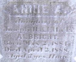 Annie A. Albright