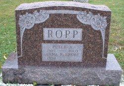 Anna R. <i>Kropf</i> Ropp