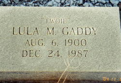 Lula Beatrice Momma Twoie <i>Miller</i> Gaddy