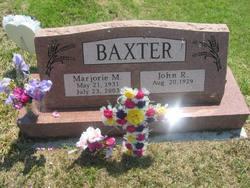 Marjorie Maxine <i>Brobst</i> Baxter