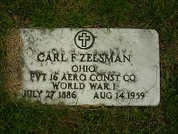 Pvt Carl F Zelsman