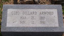 Cleo Zona <i>Dillard</i> Arwood