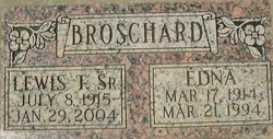 Edna <i>Dawson</i> Broschard