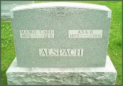 Mary E. Mamie <i>Card</i> Alspach